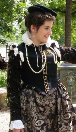 16th century dress doublet